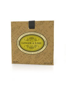 Naturally European Fragranced Envelope Sachet Ginger & Lime