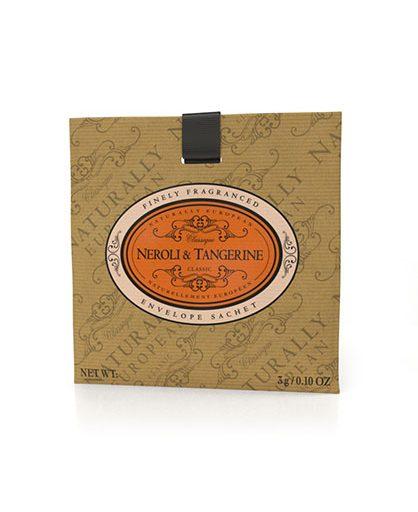 Naturally European Fragranced Envelope Sachet Neroli & Tangerine