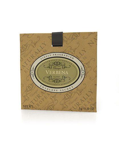 Naturally European Fragranced Envelope Sachet Verbena