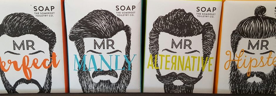 Perfect for Father's Day: Mr Beard Soaps