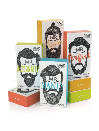 Mr Beard Soaps Collection
