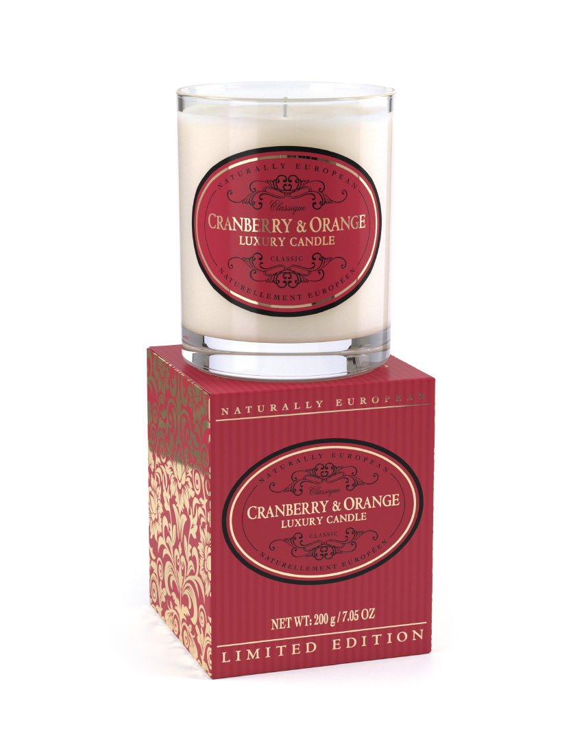 Naturally European Limited Edition Scented Candle