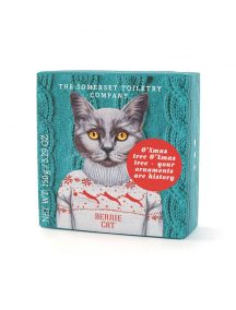 Animals in festive Jumpers Soap - Bernie Cat