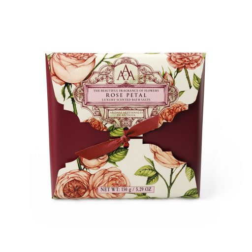 AAA 150g Bath Salts Sachet - Rose Petal