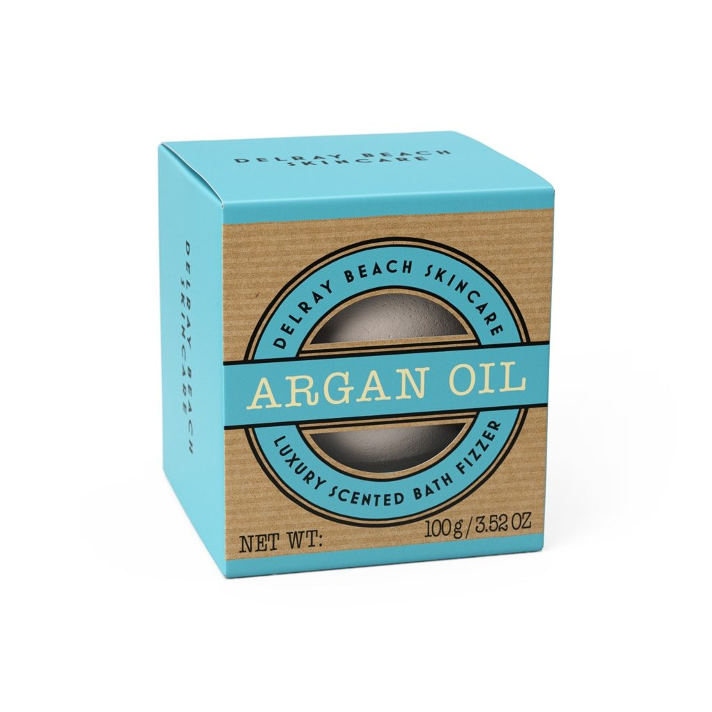 Delreay Beach 100g Bath Fizzer Argan Oil