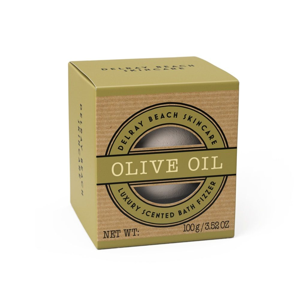 Delreay Beach 100g Bath Fizzer Olive Oil