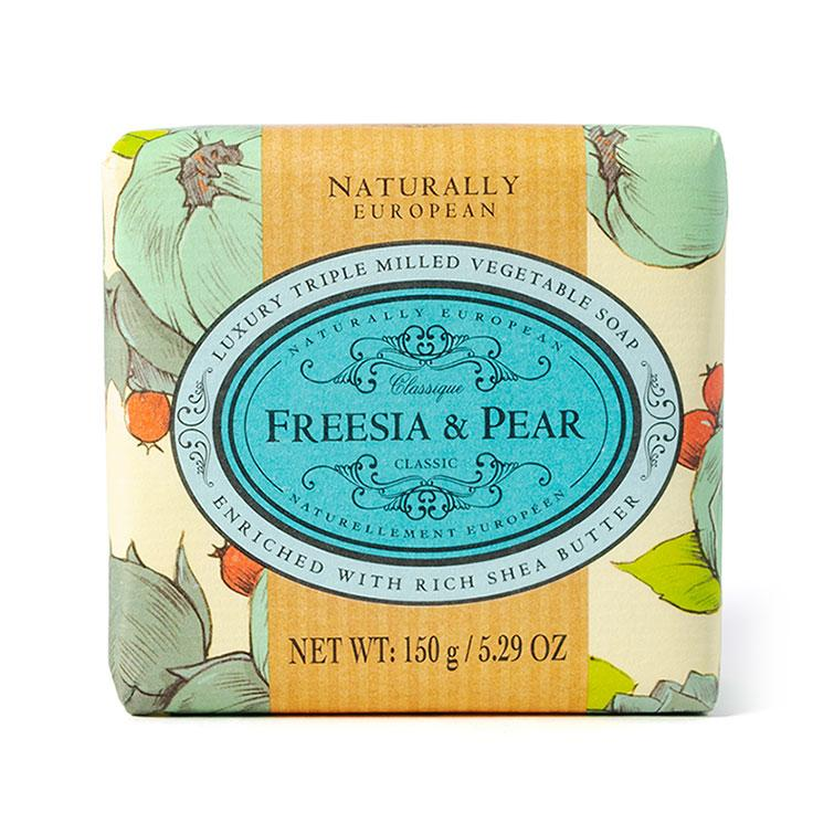 Naturally European Soap Freesia and Pear