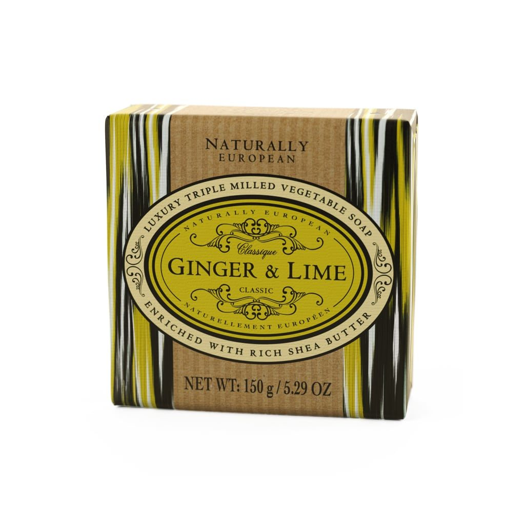Naturally European Soap Ginger and Lime
