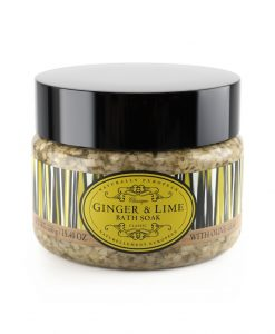 Naturally European Bath Salts Ginger and Lime