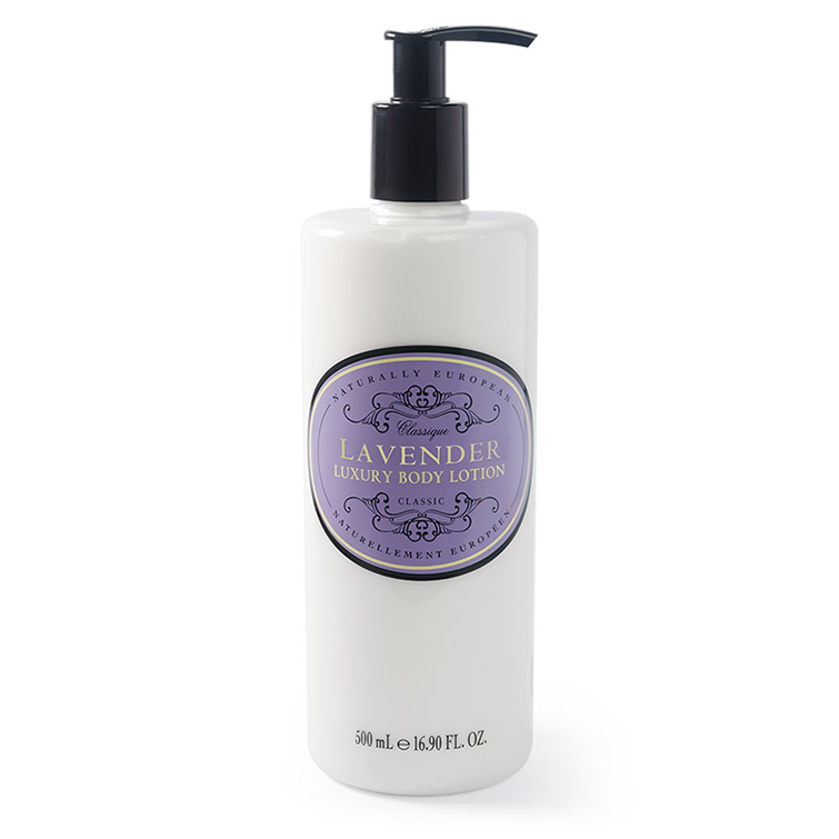 naturally european 500 ml body lotion lavender