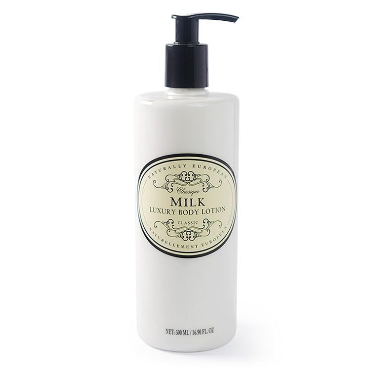 naturally european body lotion milk