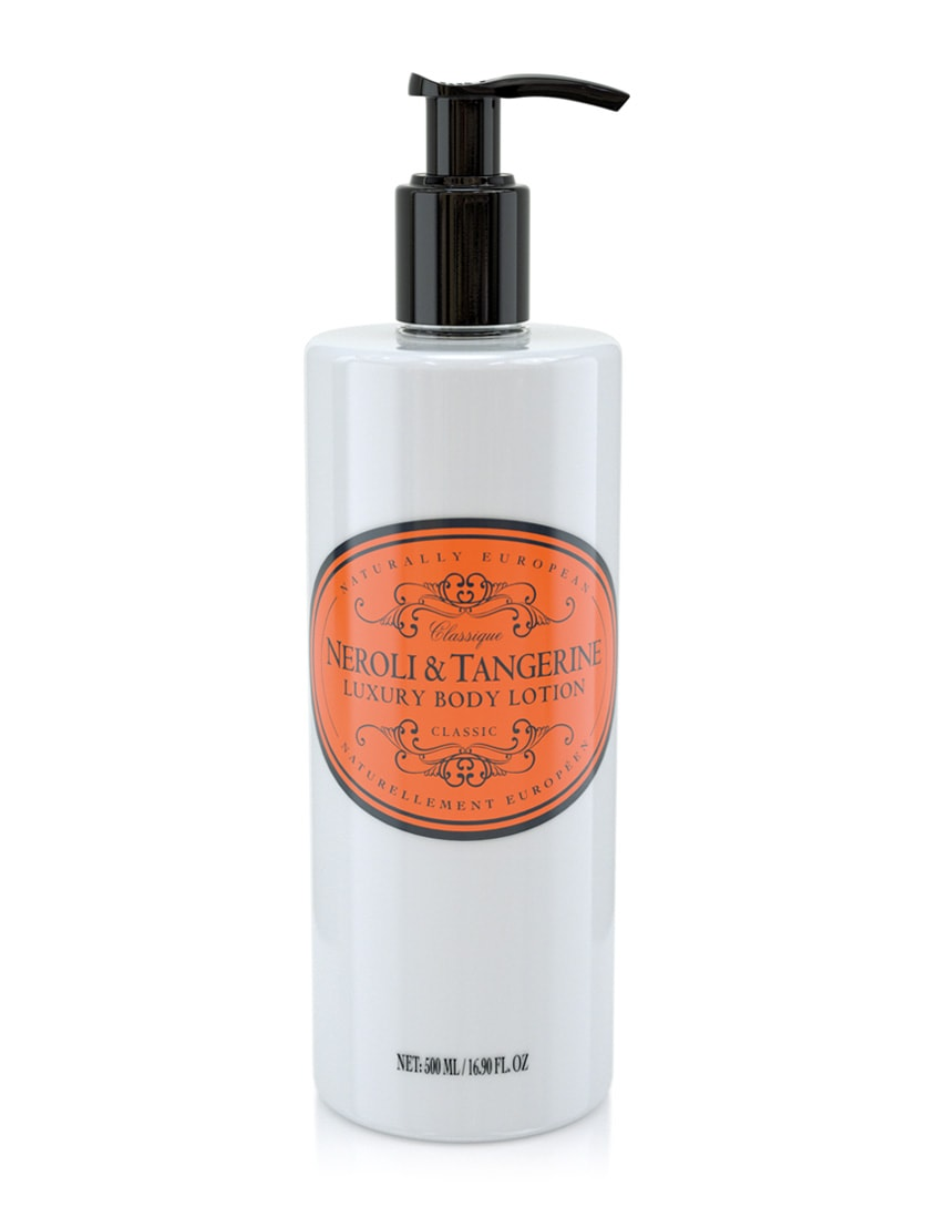 naturally european body lotion neroli and tangerine