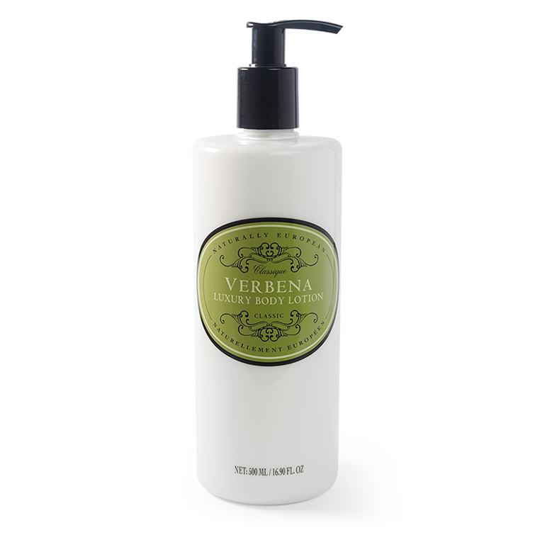 naturally european body lotion verbena