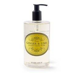 naturally european hand wash ginger and lime