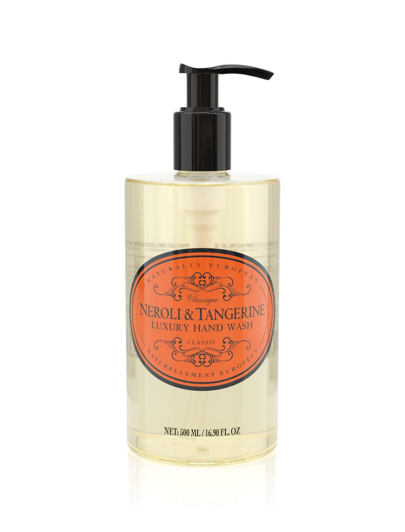 naturally european hand wash neroli and tangerine