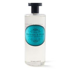 naturally european shower gel freesia and pear