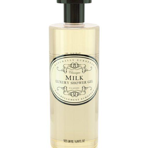 naturally european shower gel milk