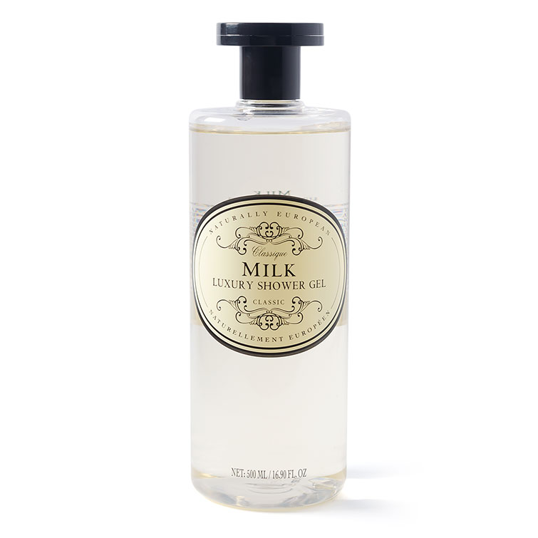 naturally european shower gel milk