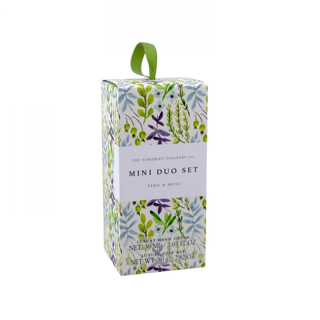 Fern and Moss Mini Hand Care Set