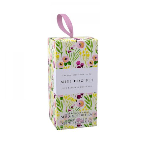 Pink Pepper and Lotus Pod Mini Hand Care Set