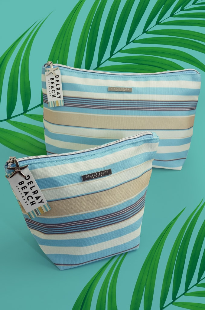 Toiletry Bags - Delreay Beach size