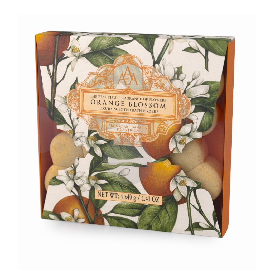 Orange Blossom Aromas Artesanales De Antigua Bath Fizzers