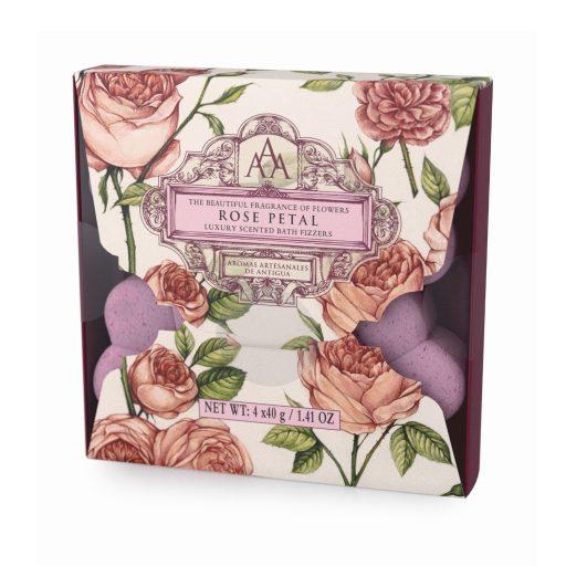 Rose Petal Aromas Artesanales De Antigua Bath Fizzers