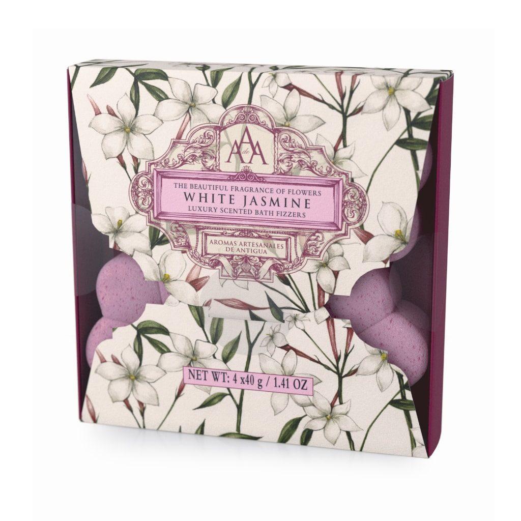 White Jasmine Aromas Artesanales De Antigua Bath Fizzers