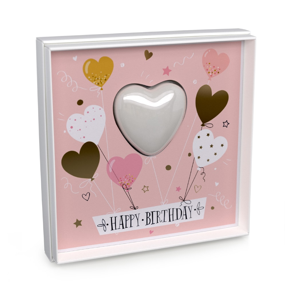 Sealed With A Kiss Happy Birthday Card
