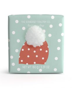 somerset-toiletry-company-bobble-hat-soap-eucalyptus christmas