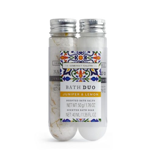 Juniper and Lemon Bath Duo Gift Set