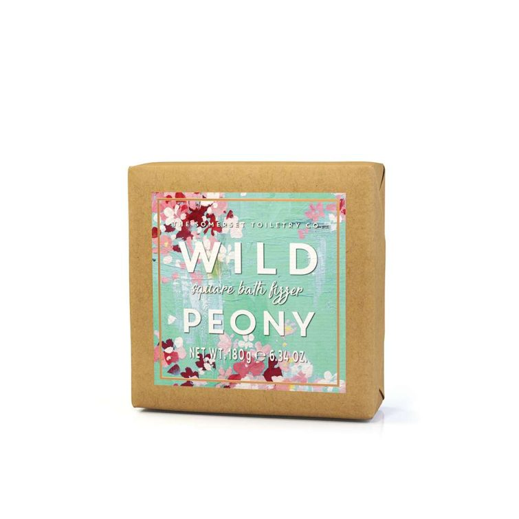 180g Floral Blossom Bath Fizzers - Wild Peony