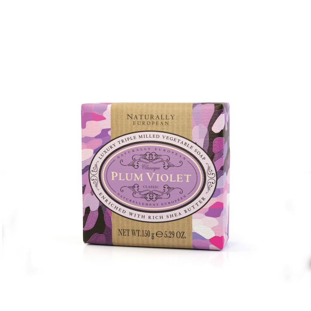 Naturally European 150g Soap - Plum Violet
