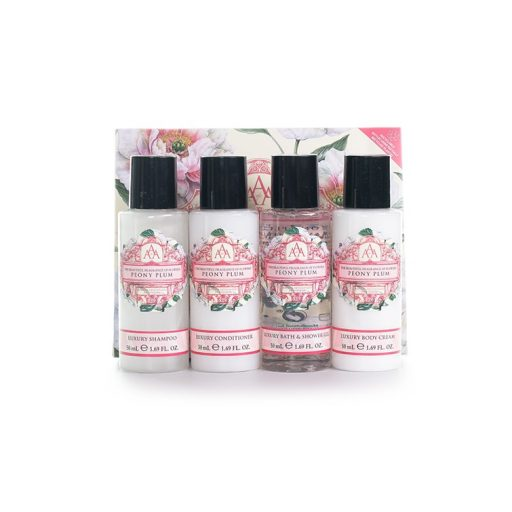 Aromas Artesanales de Antigua Travel Collection - Peony Plum