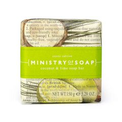 Ministry-Of-Soap-Fruit Type - Coconut-Lime-Soap-Bar