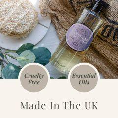 Naturally European 500ml Shower Gel - USP - Lavender