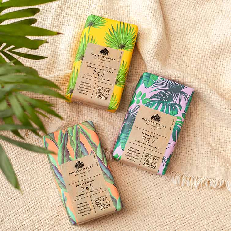 ministry-of-soap-tropical-bars-mango-lotus-flower-tropical-mist-bird-of-paradise